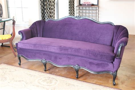 purple sofas for sale remaking a vintage couch