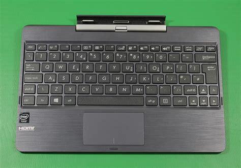Keyboard Dock Asus Transformer asus t100taf transformer dock keyboard grey ebay