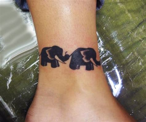 elephant tattoo around ankle 35 meaningful elephant tattoo designs will surprise you
