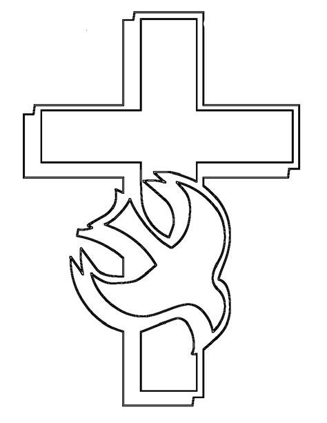 Dibujos Para Colorear De La Cruz | cruz para colorear