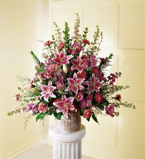 sympathy flowers calgary florist stargazer