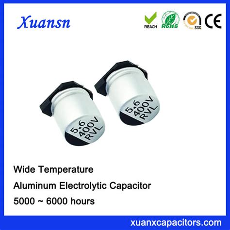 high voltage chip capacitors smd chip high voltage 5 6uf 400v electrolytic capacitor