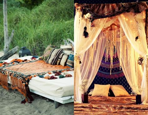 Bohemian Bed Canopy Beautiful Traditional And Bohemian Bedroom