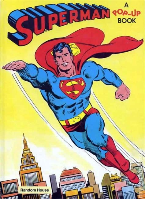 superman pop up book hc 1979 comic books