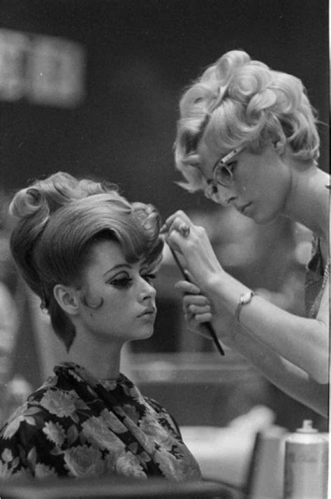 old ladies hair salon 1960 s beauty inspiration retro hairstyles make up