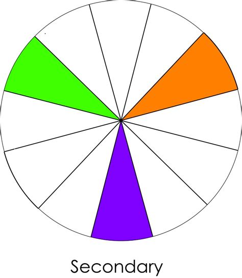 3 secondary colors 13 best secondary colours images on secondary