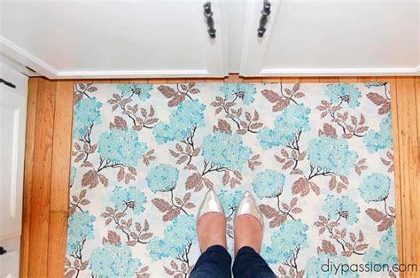 diy vinyl floor mat diy passion