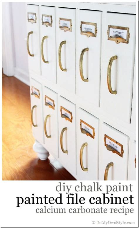 why chalk paint for furniture furniture makeover diy chalk painted wood file cabinet