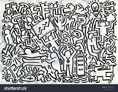 sign up for doodle account doodle businessdrawing stock