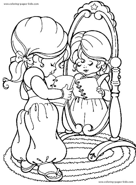 Rainbow Brite Color Page Coloring Pages For Kids Rainbow Brite Coloring Pages