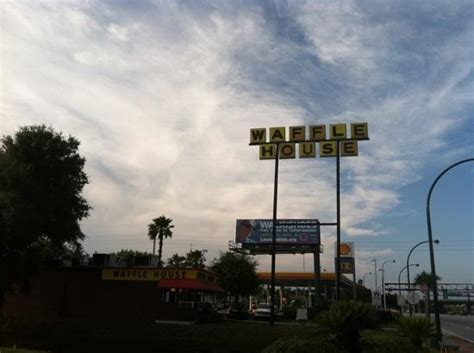 waffle house 1 2 block away picture of hton inn