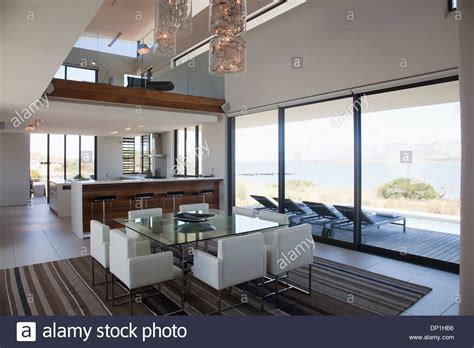 modern open floor house plans modern house dining room contemporary floor plan mexzhouse com dining room and open floor plan in modern house stock