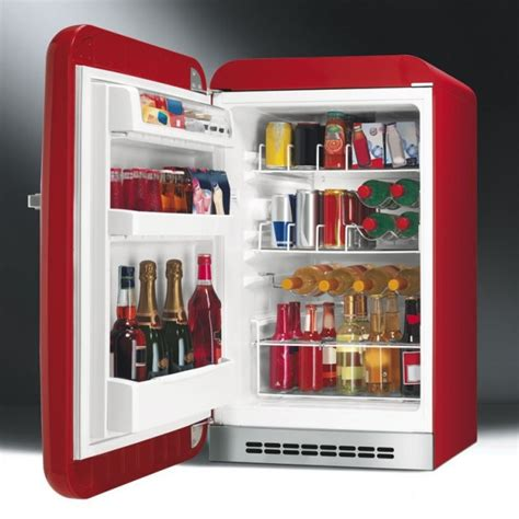 Smeg Fab10hlr Home Bar Fridge From Webbs Of Cannock Home Bar With Fridge