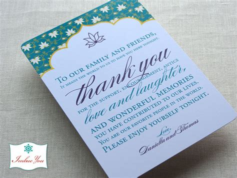 Thank You Letter To Reception Wedding Reception Thank You Card Wording Imbue You I Do