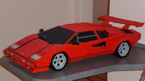 Lego Lamborghini Countach by Awesome Lego Lamborghini Countach Is On A Grand Scale