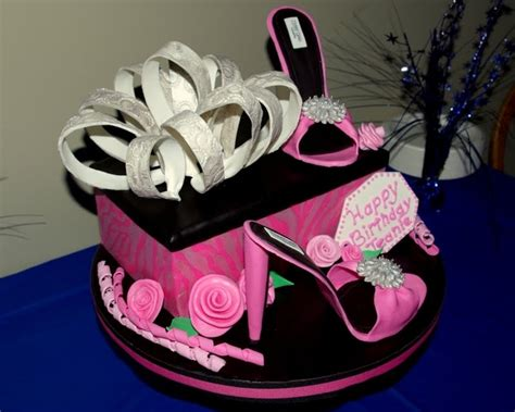 high heel birthday cake images shoebox high heels birthday cake cakecentral