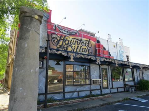 tattoo parlor augusta ga the haunted pillar with tattoo parlor and mural in