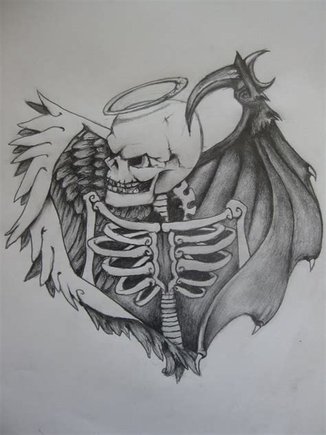 evil angel tattoo designs the world s catalog of ideas