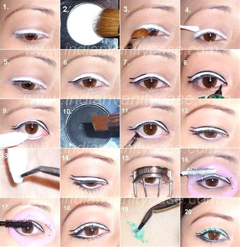 eyeliner tutorial with pencil double eyeliner tutorial beautiful shoes