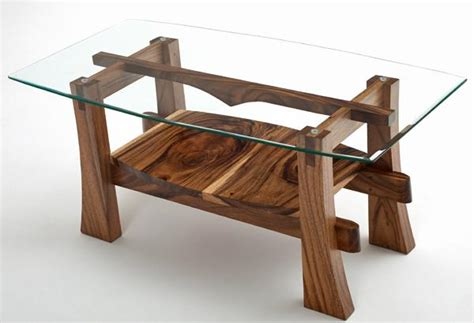 Rustic Contemporary Coffee Table Wood Coffee Table Solid Wood Coffee Table Sustainable