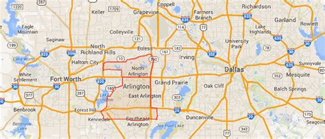 texas map arlington arlington tx apartments zoom apartment finder