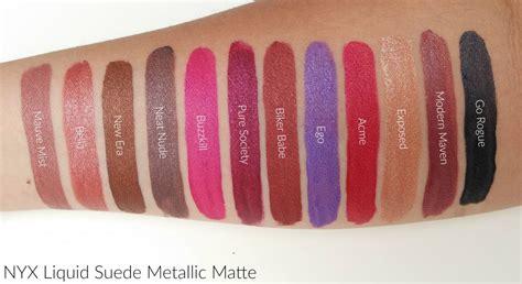 Nyx Liquid Suede nyx professional makeup liquid suede metallic matte