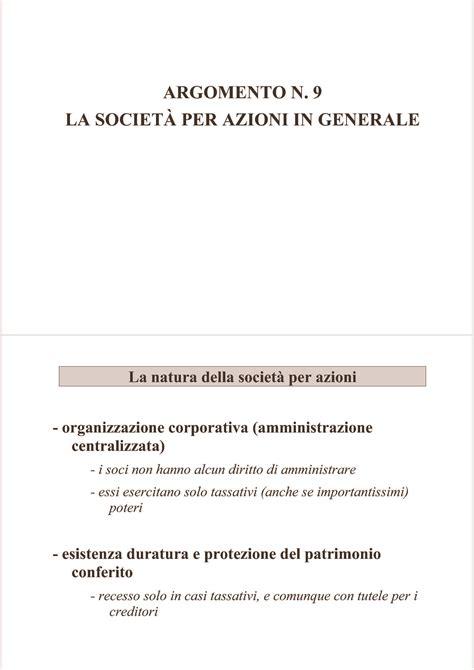 dispensa diritto commerciale statuto imprenditore commerciale dispensa di diritto