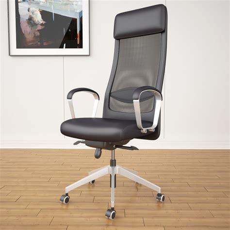 Armchair Ikea Ikea Markus Office Chair 3d Max