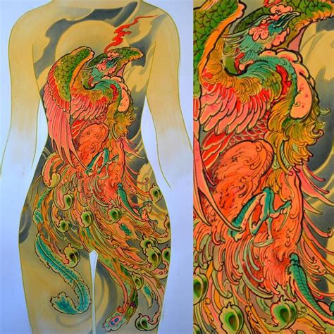 ascending koi tattoo rates ascending pheonix available 40x26 quot just email me for