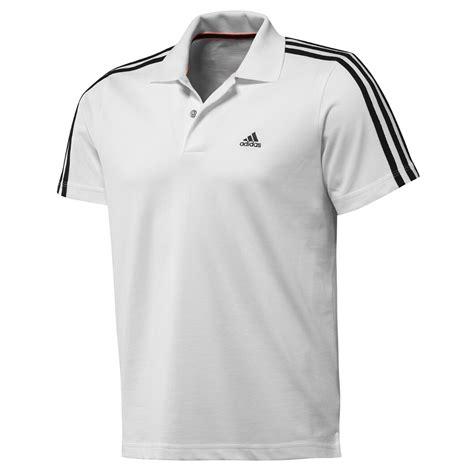 Polo 3strip Adidas adidas performance mens essentials 3 stripe polo shirt t