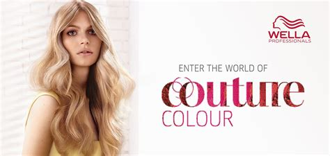wella professional hair color couture colour wella