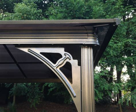 Pavillon 3x3 Dach by Outdoor Aluminium Pavillon 3x3 M Gro 223 En Garten Terrasse