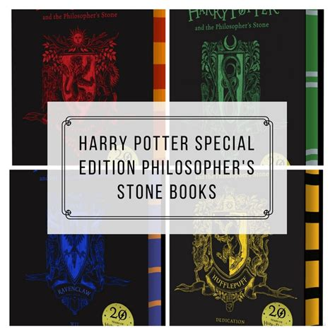 house colors harry potter books harry potter special edition books philosopher s