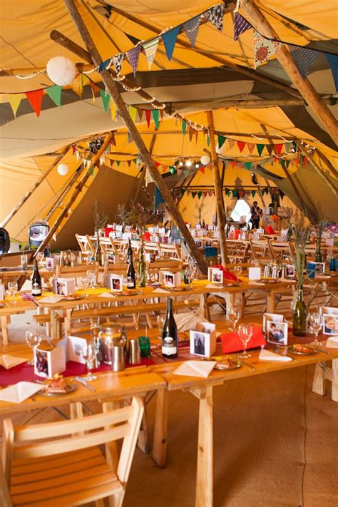 themes props glastonbury festival wedding tipi party tent glastonbury somerset
