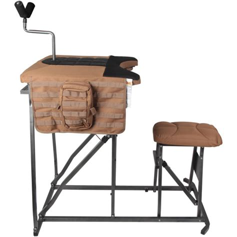 portable shooting benches timber creek portable tactical shooting bench 99 99
