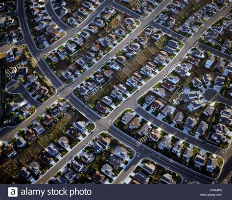 buy house in california usa aerial view of row houses in a suburban area california usa stock photo royalty
