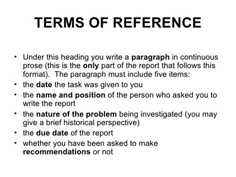 pmo terms of reference template terms of reference