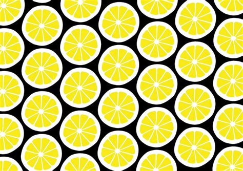 Cute Lemon Pattern | lemon pattern cute sketches pinterest ux ui designer