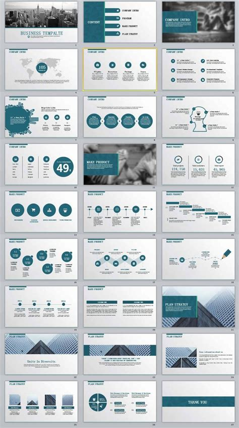 27 Business Report Professional Powerpoint Templates Business Powerpoint Templates Professional Templates For Powerpoint
