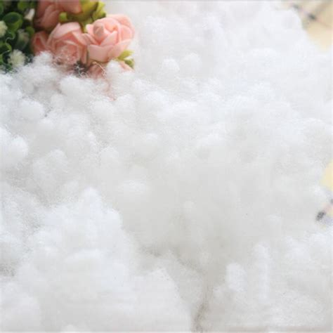 high quality cotton high quality superfine fiber pearl pp cotton filler for