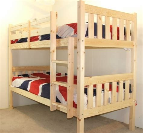 heavy duty bunk beds cypress 3ft single solid pine heavy duty low bunk bed