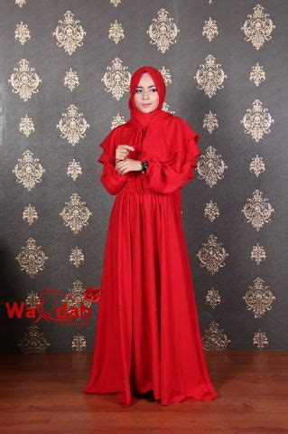 Wardah Dress by Syakirah Cape Dress By Wardah Baju Muslim Anak Perempuan