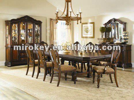 el estilo clasico de madera de comedor sala de juego