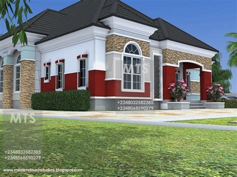 5 Bedroom Bungalow House Plans by 5 Bedroom Bungalow House Plans In Nigeria House Floor Plans