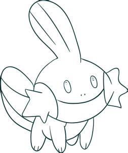 how to draw treecko torchic and mudkip coloring pictures