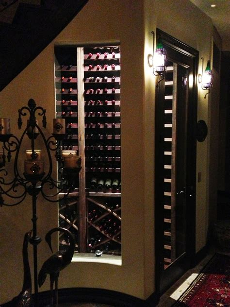 Wine Cooler Built In Cabinet by Wine Cellar Glass