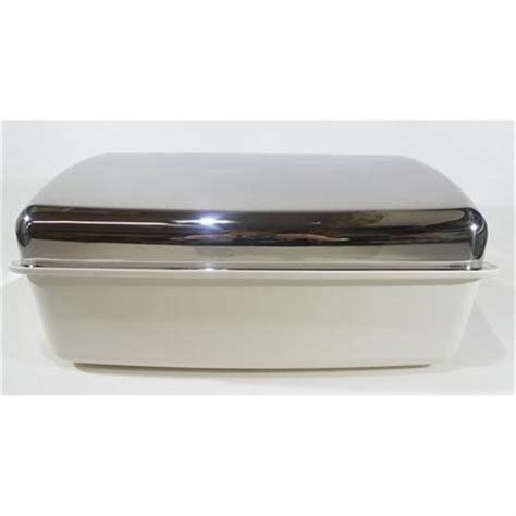 brotbox wmf wmf brotbox gourmet edelstahl kunststoff 41x25 brotkasten