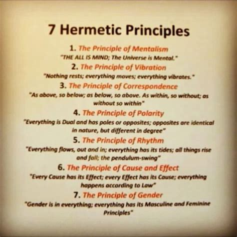images  universal spiritual laws  hermetic principles  pinterest
