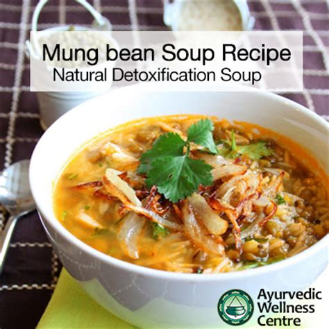 Ayurvedic Mung Bean Detox by Ayurvedic Mung Bean Soup Recipe Ayurvedic Wellness Centre