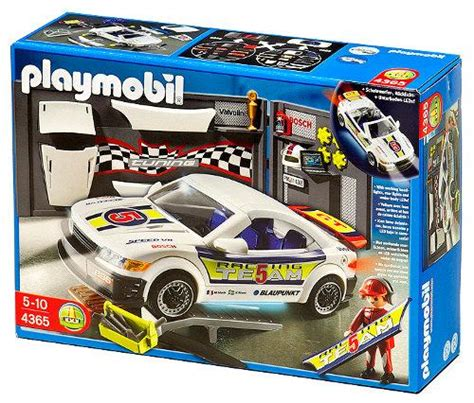 Playmobil Tuning Auto by Playmobil 4365 Tuning Race Car With Light 163 29 99
